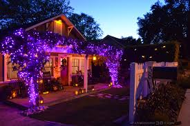orange and purple halloween lights farmhouse38