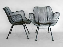 Wrought Iron Mesh Patio Furniture by Mesh Iron Chair Furniture Hastac2011 Org