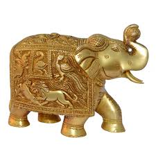 statue with royal brass elephant decorative statue with engraved figures buy