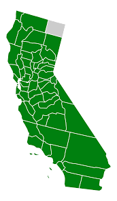 How To Draw A United States Map by File California Green Presidential Primary Election Results By
