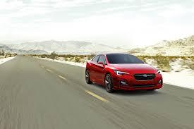 red subaru sedan images subaru impreza sedan concept sedan red roads motion cars