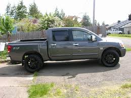 dark gray nissan nissan titan wheels and tires 18 19 20 22 24 inch