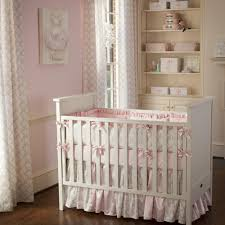 Best Baby Crib Bedding Pink And Taupe Damask Crib Bedding Carousel Pics