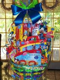 mickey mouse easter baskets mickey mouse gift basket handmade by me 1st mickey mouse
