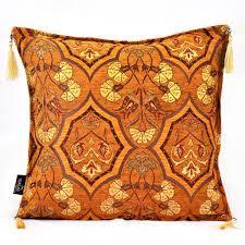 Ottoman Pillow Ottoman Pillow Mustard Grand Turkish Bazaar