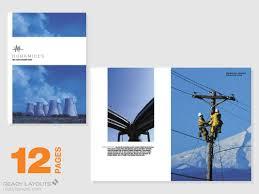 engineering brochure templates marketing brochure templates set 1