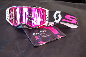 scott motocross goggles prospect breast cancer awarness save the vital mx pit