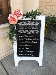Chalkboard Wedding Programs 145 Best Wedding Images On Pinterest Wedding Signs Decor