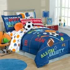 Boys Twin Bedding Duvet Covers Queen Cotton Kids Sports Time Bedding For Boys Twin