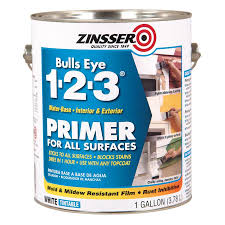 Shop Exterior Stains At Lowes Com by Shop Zinsser Bulls Eye 1 2 3 Interior Exterior Latex Primer