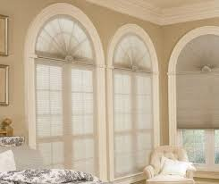 Sheer Roller Blinds For Arched Levolor Accordia Light Filtering Cellular Arch