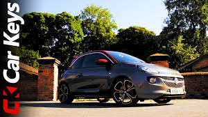 vauxhall adam price vauxhall adam s 2015 review opel adam s car keys youtube