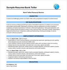 skill resume bank teller resume samples bank teller resume with