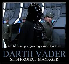 Project Management Meme - manager vader