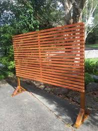 Privacy Screens Due To Restrictions We Were Not Able To Add A Privacy Fence Our