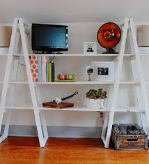 ladder shelf mama made them shelves made out of ladders wf