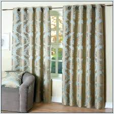 Blue And Brown Curtains Blue And Yellow Shower Curtain Kolcovo