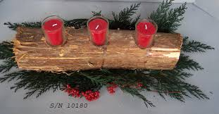 christmas log craft ideas