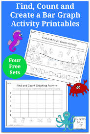 thanksgiving graphing find count and create a bar graph with ocean objects printables
