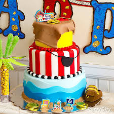 treasure jake neverland pirates cake party