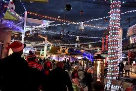 firstenergy stadium in reading lights up for holidays reading