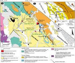 Large Siena Maps For Free by Key Travertine Tectofacies For Neotectonics And Palaeoseismicity