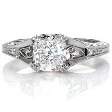 vintage cushion cut engagement rings cushion cut engagement rings jewelers