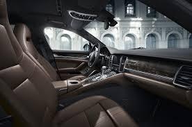 porsche panamera hatchback interior 100 copies of porsche panamera exclusive series released photo