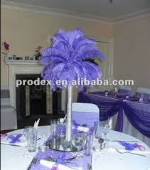 ostrich feather centerpieces ostrich feather centerpieces for wedding decoration buy wedding