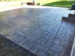 Decorative Concrete Patio Contractor Stamped Concrete Patios Worthington Ohio