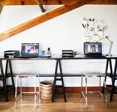 20 Diy Desks That Really Work For Your Home Office by Stylish Long Desk For Office 20 Diy Desks That Really Work For