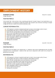 Example Of Australian Resume Australian Resume Template Job Resume Samples