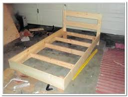 Make Bed Frame How To Make A Bed Frame Out Of Home And Decor A Bed How