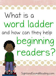 what is a word ladder how can it help your reader