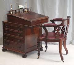 Vintage Desks For Home Office by Antique Antique Davenport Desk James Winter Sons Top Slides