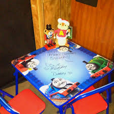 thomas the tank engine table top thomas and friends table chair set purchased at walmart i love