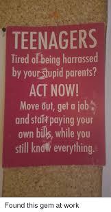 Memes About Teenagers - 25 best memes about stupid parent stupid parent memes