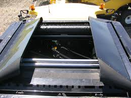 protective combine hopper cover