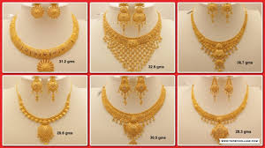 necklace design gold images Latest gold necklace designs with weight simple gold necklaces jpg