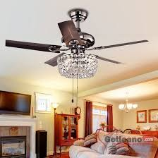 Chandelier Light For Ceiling Fan Dining Room Ceiling Fan With Chandelier Light Kit Fans For
