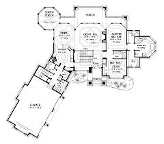 Garage House Floor Plans 1 Story House Plans Without Garage
