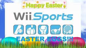 sports easter eggs wii sports easter eggs