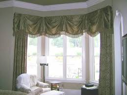 Bay Window Valance Bay Window Valances With Fringe And Curtains Beautiful Bay