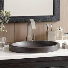 tolosa nativestone bathroom sink native trails tolosa nativestone bathroom sink in slate