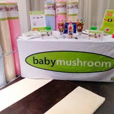 on the floor with baby mushroom my strange family