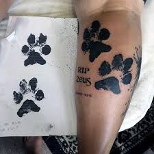70 paw designs for canine print ink ideas calf