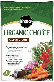 miracle gro organic choice garden soil walmart com