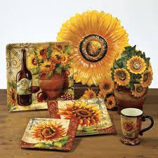 sunflower kitchen canisters tuscan sunflowers a2 jpg