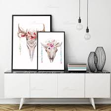 deer head home decor art print poster picture more detailed picture about modern