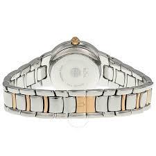 bulova ladies bracelet images Bulova diamond silver dial two tone stainless steel bracelet jpg